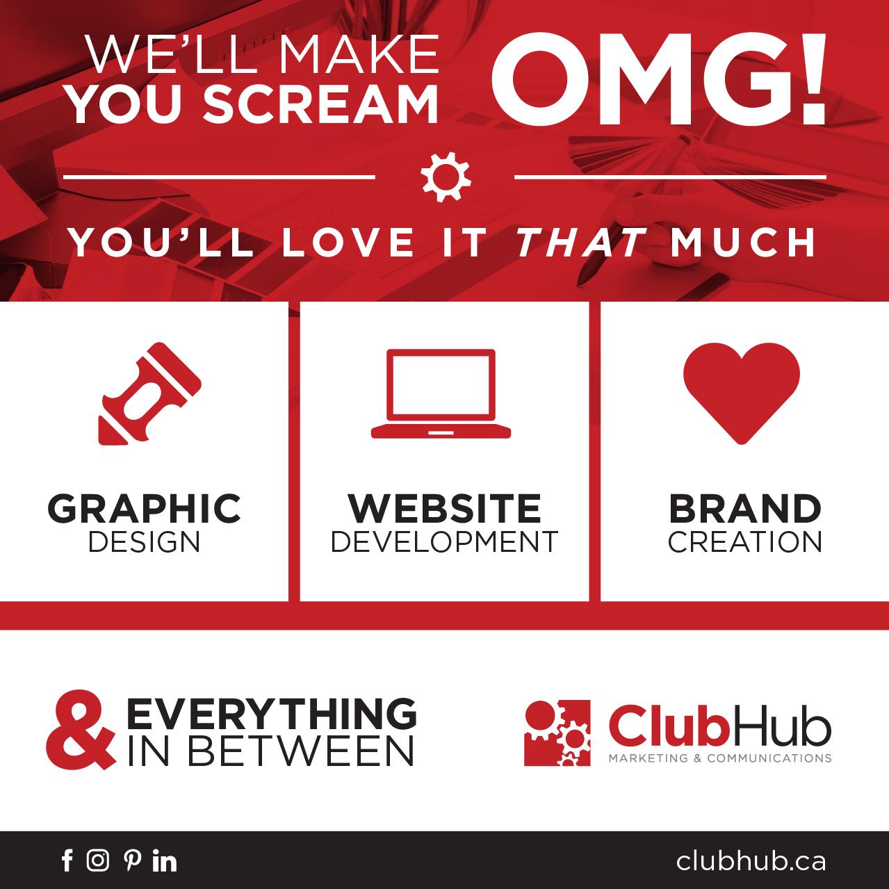 Club Hub Marketing & Communications